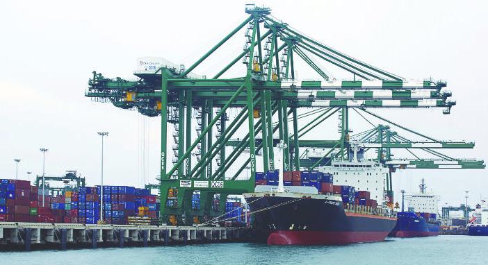 chennai port international terminal