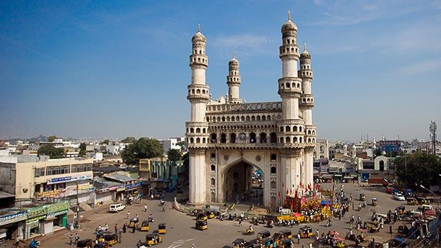 Charminar Symbol Of Hyderabad.